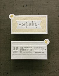 See Jane Blog Cards | Studio On Fire