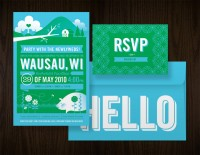 Eight Hour Day » Wedding Invites