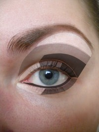 How to apply eyeshadow - this is the best diagram I have ... | Make-up