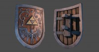 Wind Waker Hero Shield - Polycount Forum