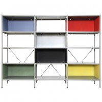 Furniture: Multi Color Modular Shelving Units System Modern Interior Storage Furniture On The Unique Modular Shelving Units, Contemporary Serpant, Glass Sliding Doors ~ 2 Quick