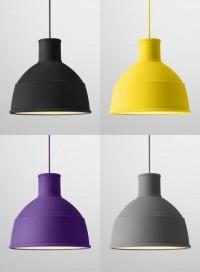 Rubber Pendant Lamp: foldable 'Unfold'   Captivatist