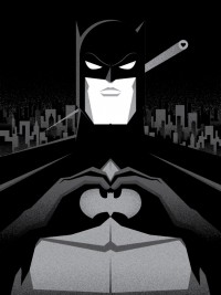 """I Heart Gotham"" Art Print by Bruce Yan 