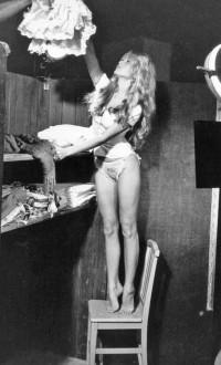 Brigitte Bardotin Her Dressing Room, 1956 ... | Brigitte Bardot