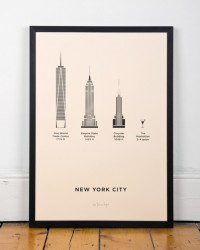 New York City Screenprint | me&him&you