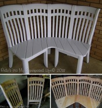 DIY 4 Chairs Corner Bench Step by Step DIY Projects | UsefulDIY.com