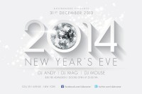 2014 New Years Flyer Template on