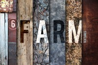 6 Farm Textures on