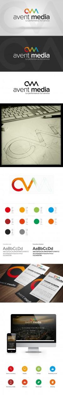 Avent Media new identity | Identity