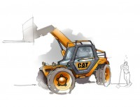 #cat #construction | Illustração