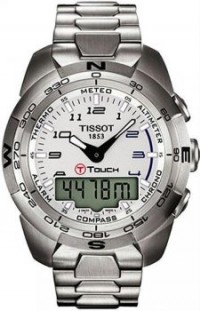 Men's Stainless Steel T-Touch Expert Analog Digital White Dial [BDT0134201103200] - $676.00 : Luxury Brands Watches | Buy Luxury Brands Watches at Discount Prices, Luxurybrandswatches.com is a premier watch retailer that specializes in selling luxury and branded watches at exceptional prices. Shop for Invicta, Aquaswiss, Gucci, Tag Heuer & many more