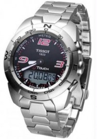 Men's Stainless Steel T-Touch Expert Analog Digital Black Dial [BDT0134201105700] - $676.00 : Luxury Brands Watches | Buy Luxury Brands Watches at Discount Prices, Luxurybrandswatches.com is a premier watch retailer that specializes in selling luxury and branded watches at exceptional prices. Shop for Invicta, Aquaswiss, Gucci, Tag Heuer & many more
