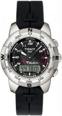 Men's T-Touch Analog Digital Titanium Multi-Function Carbon Dial [BDT33789892] - $586.47 : Luxury Brands Watches | Buy Luxury Brands Watches at Discount Prices, Luxurybrandswatches.com is a premier watch retailer that specializes in selling luxury and branded watches at exceptional prices. Shop for Invicta, Aquaswiss, Gucci, Tag Heuer & many more