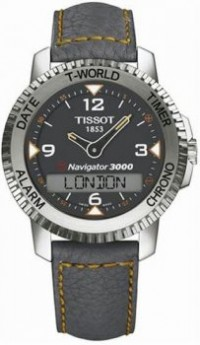 Men's Stainless Steel T-Touch Navigator 3000 Genuine Leather Ban [BDT96147832] - $364.00 : Luxury Brands Watches | Buy Luxury Brands Watches at Discount Prices, Luxurybrandswatches.com is a premier watch retailer that specializes in selling luxury and branded watches at exceptional prices. Shop for Invicta, Aquaswiss, Gucci, Tag Heuer & many more
