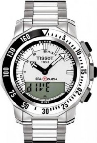 Men's Stainless Steel T-Touch Sea Touch Analog Digital [BDT0264201103101] - $1,225.00 : Luxury Brands Watches | Buy Luxury Brands Watches at Discount Prices, Luxurybrandswatches.com is a premier watch retailer that specializes in selling luxury and branded watches at exceptional prices. Shop for Invicta, Aquaswiss, Gucci, Tag Heuer & many more