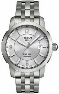 Men's Stainless Steel T-Classic PRC200 Quartz Silver Dial [BDT0144101103700] - $239.00 : Luxury Brands Watches | Buy Luxury Brands Watches at Discount Prices, Luxurybrandswatches.com is a premier watch retailer that specializes in selling luxury and branded watches at exceptional prices. Shop for Invicta, Aquaswiss, Gucci, Tag Heuer & many more