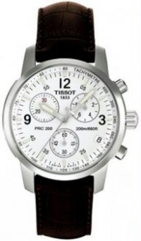 Men's T-Sport PRC200 Chronograph White Dial Strap [BDT17151632] - $475.00 : Luxury Brands Watches | Buy Luxury Brands Watches at Discount Prices, Luxurybrandswatches.com is a premier watch retailer that specializes in selling luxury and branded watches at exceptional prices. Shop for Invicta, Aquaswiss, Gucci, Tag Heuer & many more