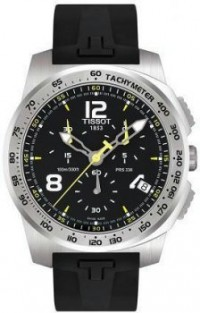 Men's Stainless Steel T-Sport Chronograph Black Dial [BDT0364171705700] - $450.00 : Luxury Brands Watches | Buy Luxury Brands Watches at Discount Prices, Luxurybrandswatches.com is a premier watch retailer that specializes in selling luxury and branded watches at exceptional prices. Shop for Invicta, Aquaswiss, Gucci, Tag Heuer & many more