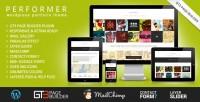 WordPress - Performer Minimalistic Portfolio WordPress Theme | ThemeForest