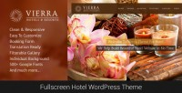 WordPress - Vierra - Responsive Hotel Wordpress Theme | ThemeForest