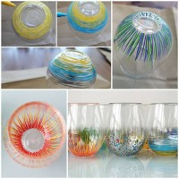 DIY Color Your Own Glassware DIY Projects | UsefulDIY.com