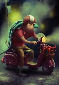 Imágenes de ilustraciones creativas por Aleksey Baydakov