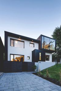 The Black and White Connaught Residence in Montreal | Inspiration DE
