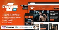 WordPress - Gym Guide - Fitness Sport Wordpress Theme | ThemeForest