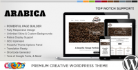 WordPress - WP Arabica Responsive Creative WordPress Theme | ThemeForest
