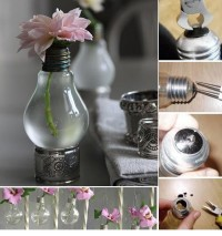 Recycle Light Bulbs Planters | UsefulDIY.com