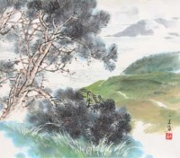 Photo peinture de He Yifu (383) - Photos