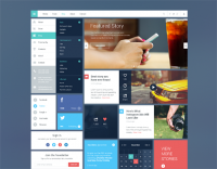 Blog/Magazine UI Kit #2 on