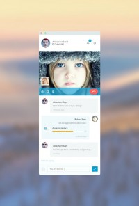 Video Chat Messenger | Inspiration DE