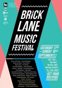 Brick Lane Music Festival Poster | inspire me*