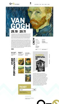 Web Design / Q-Q Art Museum — Designspiration