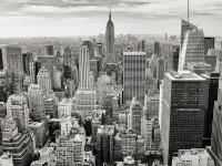 Black & White Cityscape - Stock Photo - FreebiesXpress