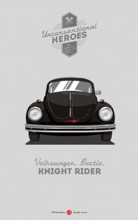 UNCONVENTIONAL HEROES / Knight rider — Designspiration