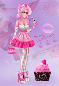 Be My Little Cupcake by kharis-art