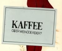 Postkarten - Pastkarte | Kaffee? oderweinoderbier? - ein Designerstück von sentimentaleslied bei DaWanda