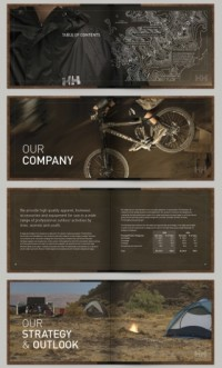 Print Design / The Helly Hansen Annual Report by Shelby White — Designspiration