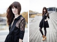 "Raphaelle H. Limi Dress, Patouf Shoes //""035"" by Clementine Levy // LOOKBOOK.nu"