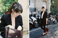 "Vintage Bag, Topshop Loafers, Cheap Monday Jeans, Vintage Jacket //""034"" by Clementine Levy // LOOKBOOK.nu"
