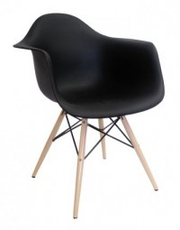 Replica Eames DAW Armchair - Black | ZUCA | Homeware, Chairs, Replica Furniture, Barstools & Office Furniture in Wellington, New Zealand