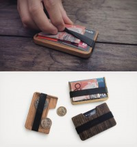 Poquito Wood Wallet » Design You Trust