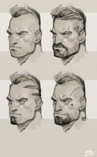 Face ideation by BMitkov - Borislav Mitkov - CGHUB