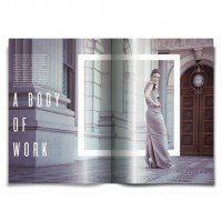 Magazine Design Inspiration - MagSpreads: Fashion Look Book - Layout Design