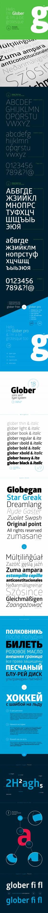 Glober Free Font - FreebiesXpress