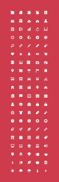 The Icons: 100 Free Icons - FreebiesXpress