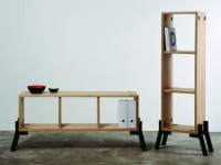 Tonic Sideboard-Bookcase Design by Reinhard Dienes