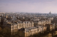 Photography / Looking down on Paris, from the Eiffel Tower. — Designspiration